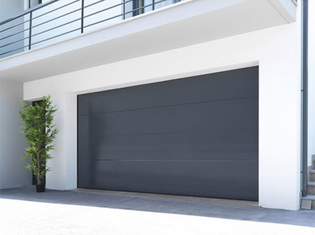 Les portes de garage map menuiseries aluminium technal for Porte de garage moss
