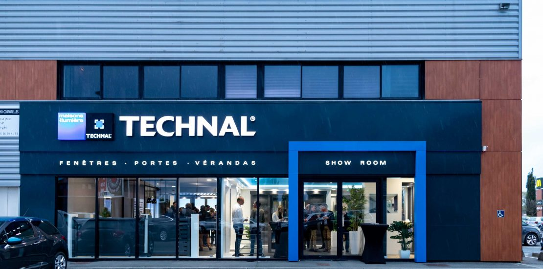 Inauguration du Showroom Technal de Gironde en photos